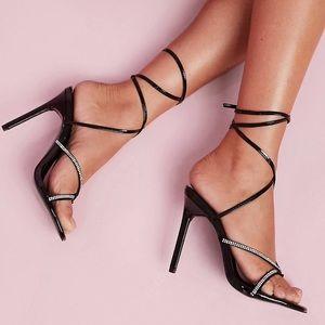 ASOS Design Luxe Heeled Sandals